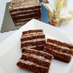 Посна торта со гриз без брашно