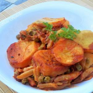 Зеленчукова мусака (посно)