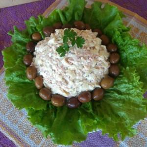 Крем салата од тестенини