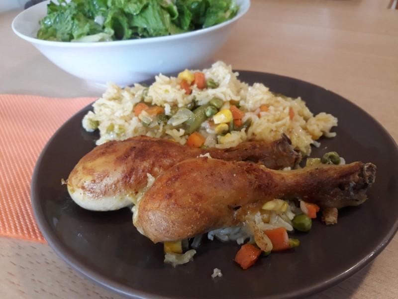 Маринирани пилешки копани