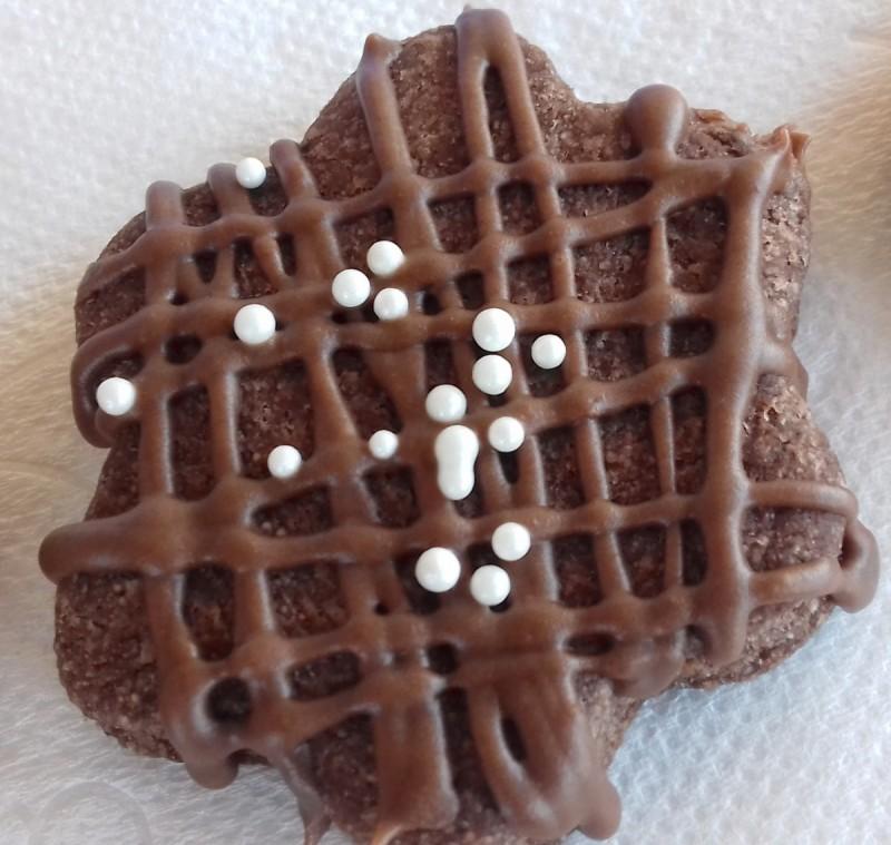 Какао суви кекси