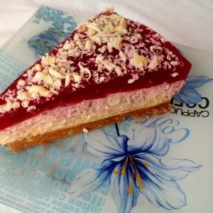 Торта со кроасани - без печење (јубилеен 100ти рецепт)