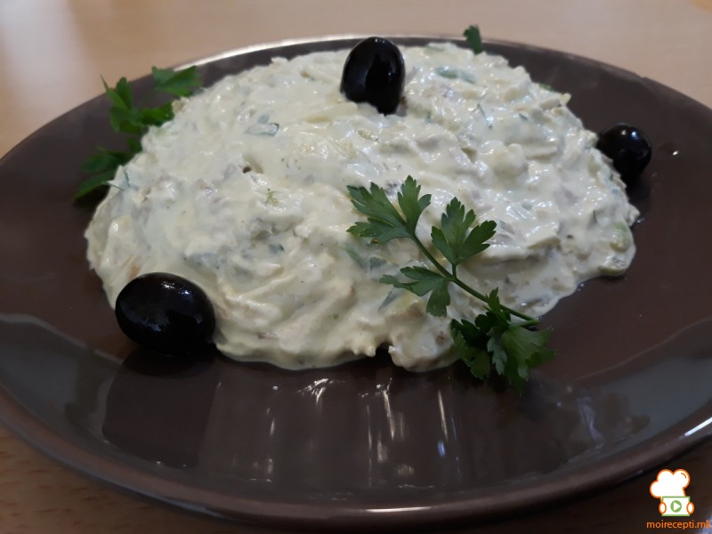 Пилешка крем салата