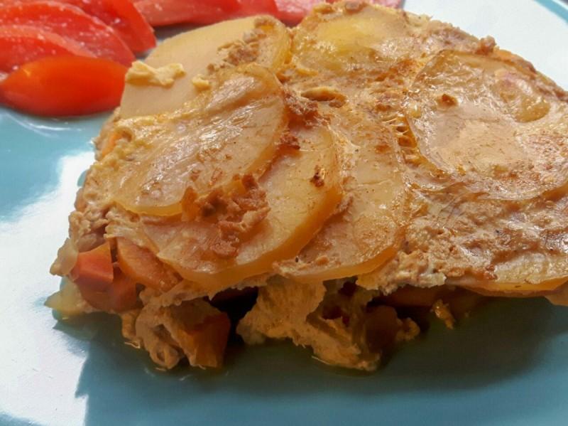 Вегетаријанска мусака со тофу