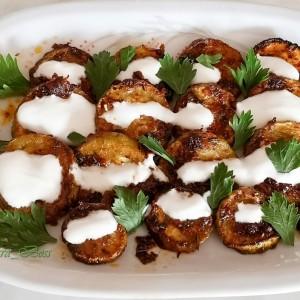Fırın Kabak- маринирани печени тиквички