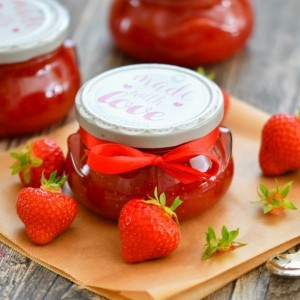 Мармалад од јагоди (со кратко варење)