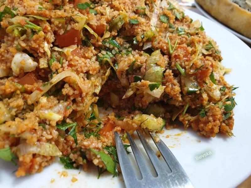 Турска салата - Kisir tarifi