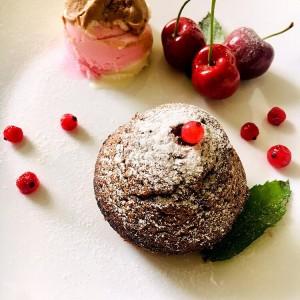 Лава колачи (чоколадни)