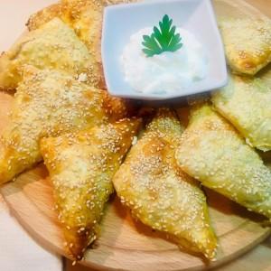 Брзи триаголници со сирење