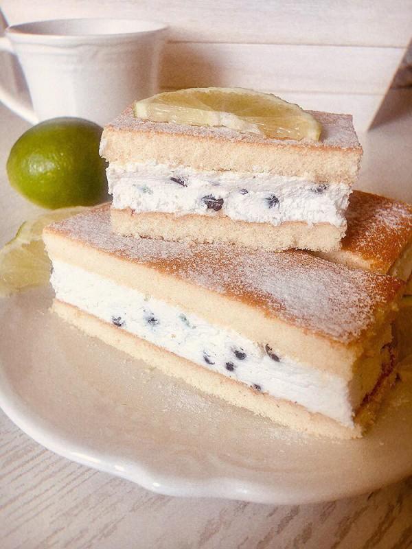 Страчатела тортици со лимета (без печење)