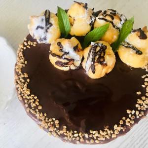 Профитероли торта (јубилеен 100ти рецепт)
