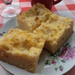 Маштенчарник - печени јуфки со јајца