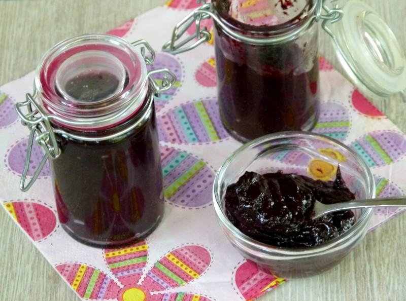 Мармалад од боровинки (без варење, без шеќер, посно)