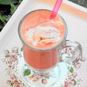 Смути со лубеница и сладолед