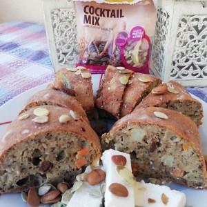 Солена торта со брашно од хељда и микс семиња од Натура