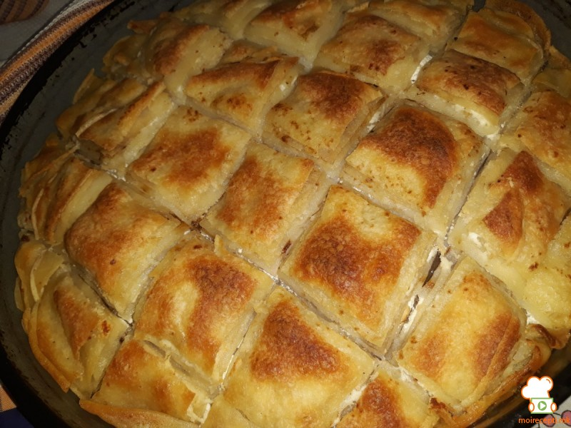 Питулици - печени палачинки со фил