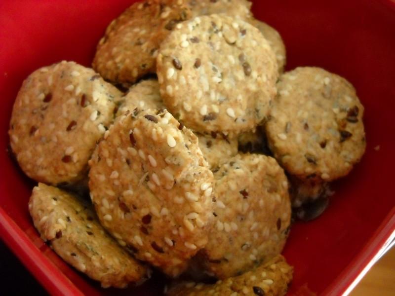 Интегрални грицки со семиња