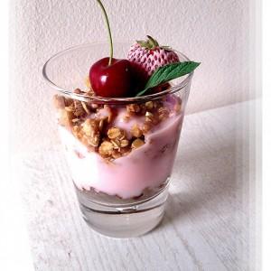 Пудинг десерт во чаша