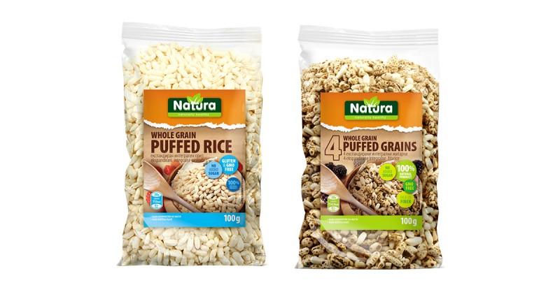 Ескпандирани житарки од Натура