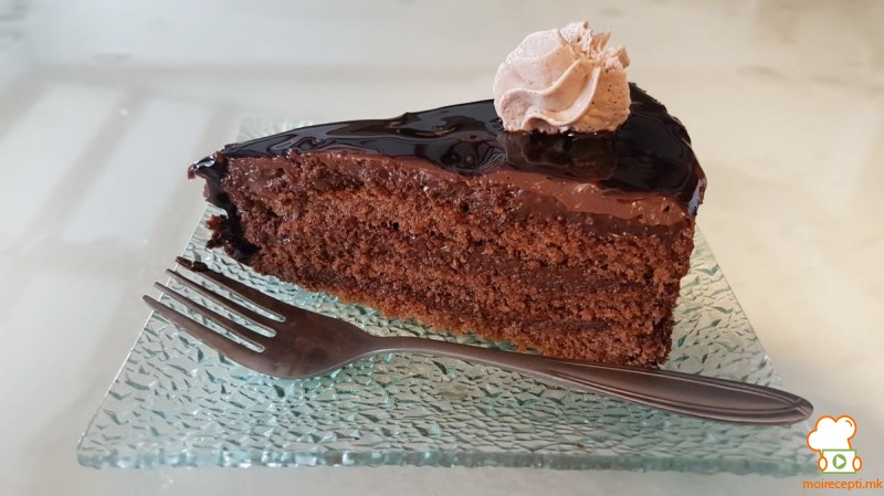 Брза чоколадна торта