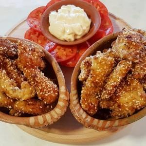 Пилешки прсти (како во кафана)