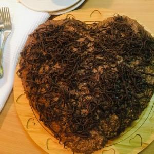 Торта со таан алва (посно)