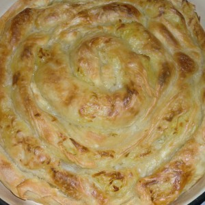 Тегнета пита со компири-Компируша