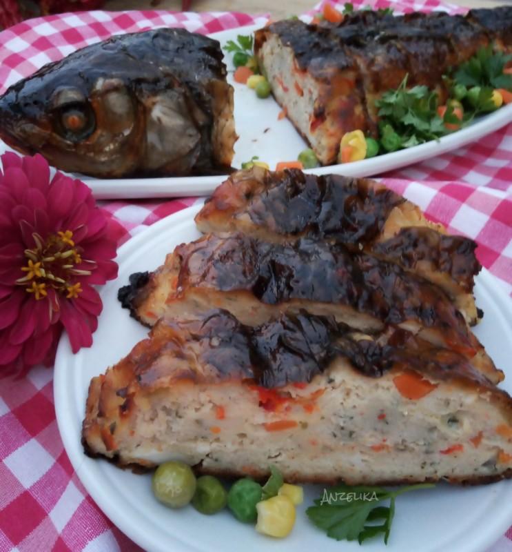 Риба полнета (ролат од риба) - Украинска кујна