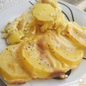 Сенф потпечени компири