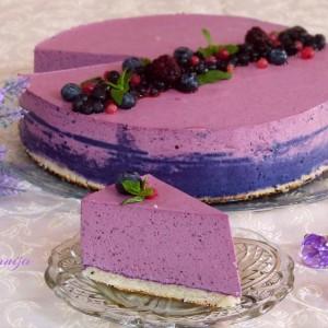 Пурпурен чизкејк