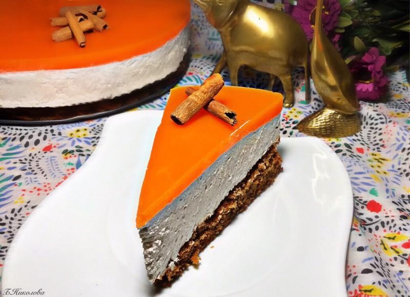 Чизкејк со моркови и цимет