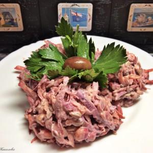 Витаминска салата со мајонез