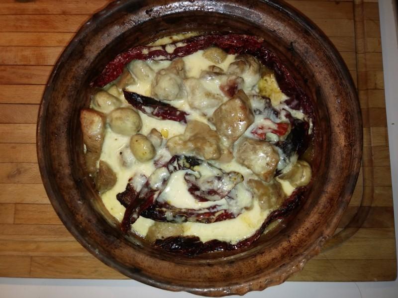 Селско месо со сланина