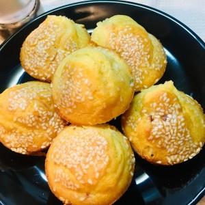 Солени мафини со сланина