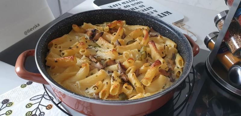 Потпечени тестенини со зеленчук