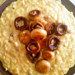 Рижото со печурки