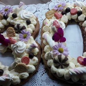 Алфабет торта - Number cakes