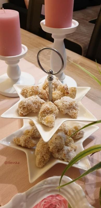 Шербет колачи со бадеми (посно)