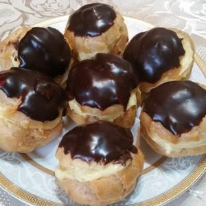 Принцес крофни - тесто за еклери