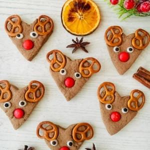 Божиќни медењаци (Рудолф црвено носе)