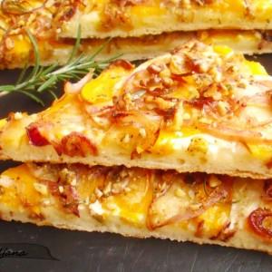 Тарт со тиква (Пица со тиква)