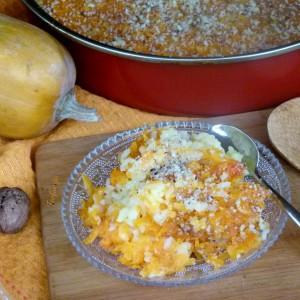 Сутлијаш со тиква од рерна (посно)