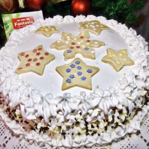 Брза торта со ореви и кафе