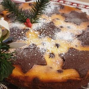 Празничен кекс торта