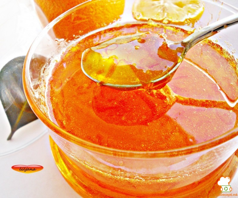 Мармалад од портокал и лимон