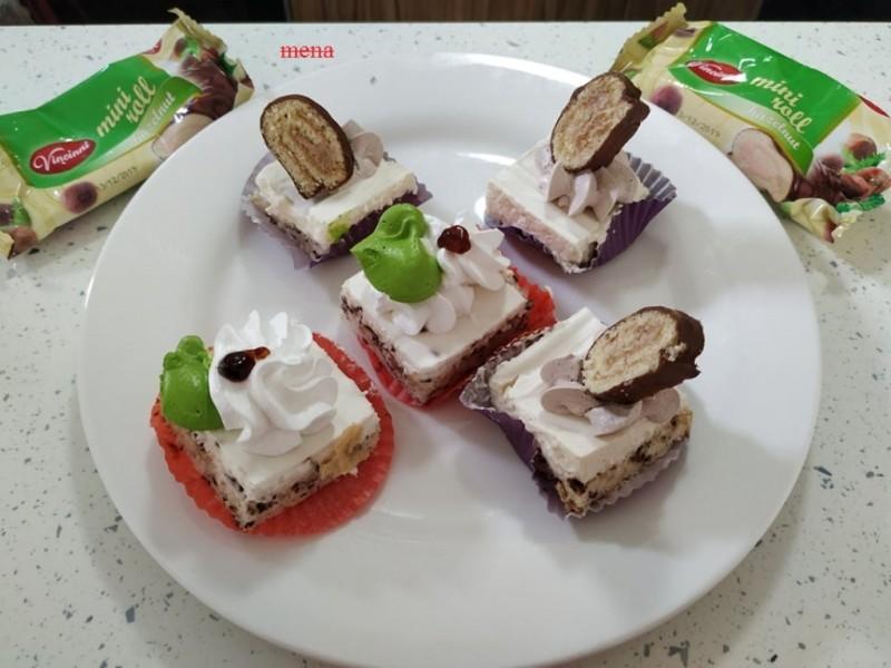 Винчини коцки со мелени бисквити и ореви