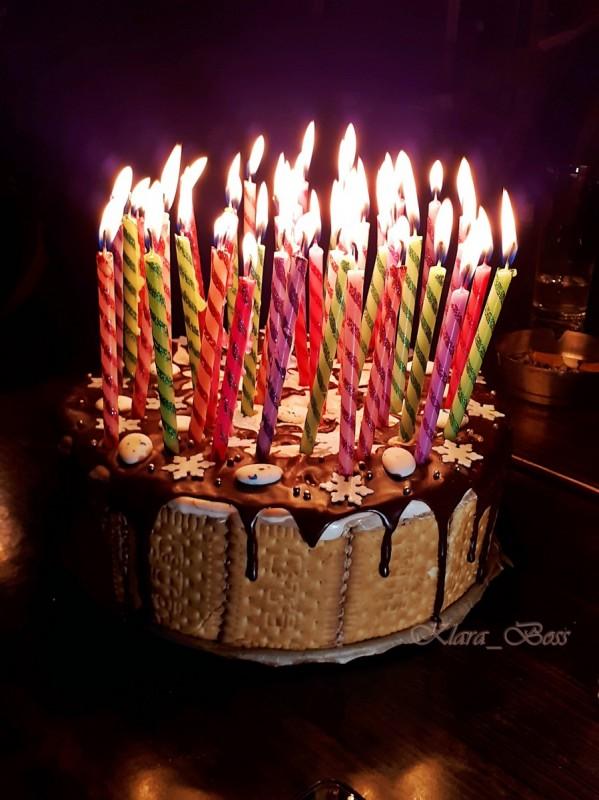 Бисквитна мозаик торта (јубилеен 1.000 репцепт) (без печење)