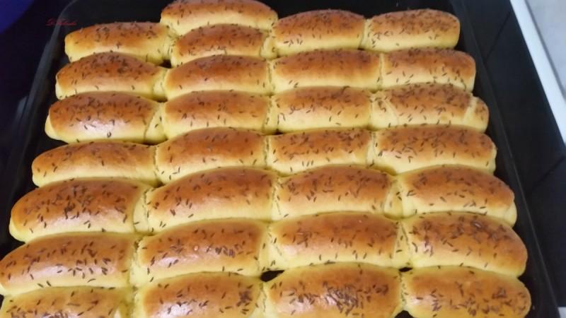Кифли со пченкарно брашно - проја кифли