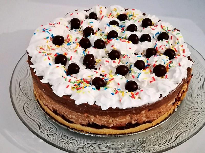 Винчини песок торта (без печење)