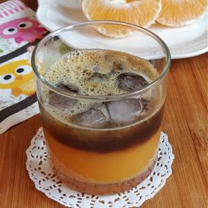 Оранж кафе со ванила
